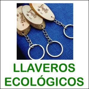llaveros ecológicos